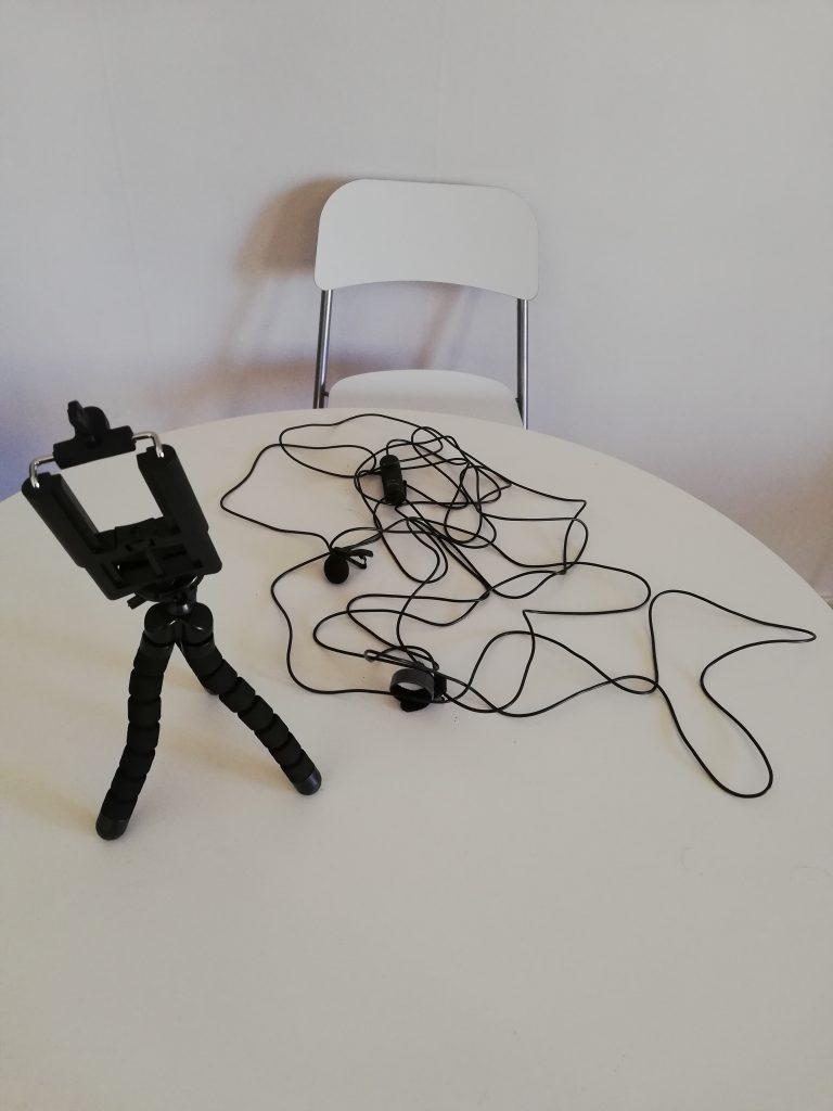 my video making equipment